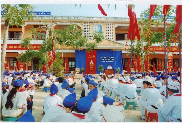 Hình ảnh trường THCS Hoa Quảng