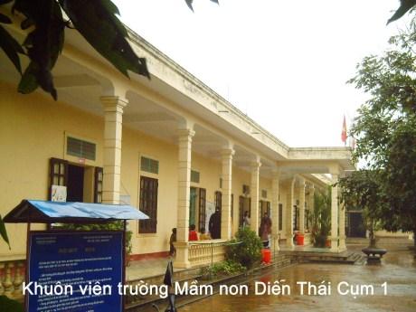 Hình ảnh trường Mầm non Diễn Thái (Cụm 1)