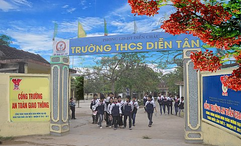 """""""Chiến lược phát triển giáo dục trường THCS Diễn Tân giai đoạn 2012 đến 2017 và tầm nhìn đến năm 2020"""""""