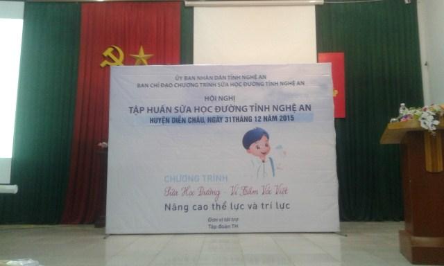 Tập huấn triển khai chương trình sữa học đường 'Vì tầm vóc Việt'