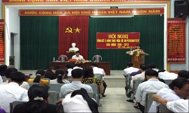 Huyện Diễn Châu tổ chức Hội nghị tổng kết 5 năm thực hiện Đề án Phổ cập GDMNTE 5 tuổi giai đoạn 2010-2015